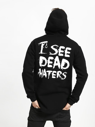 Mikina s kapucí Diamante Wear I See Dead Haters HD (black/white)