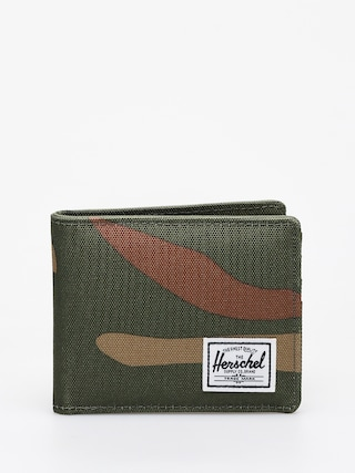 Herschel Supply Co. Penu011bu017eenka Roy Coin RFID (woodland camo/army)