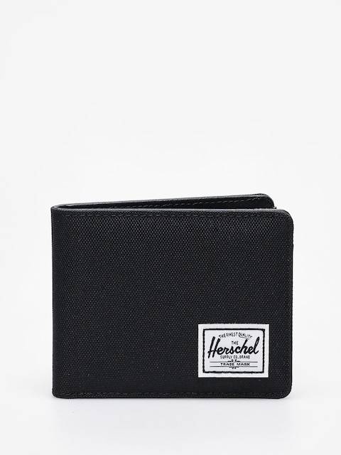 Peněženka Herschel Supply Co. Hank Rfid (black/black synthetic leather)