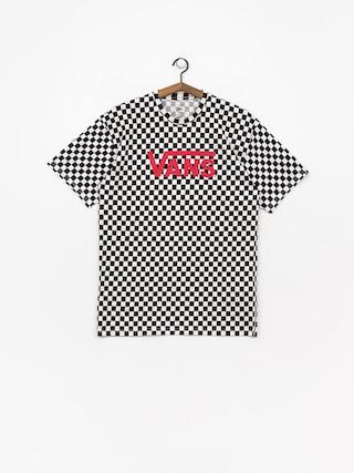 Tričko Vans Classic (black/white/checkerboard)