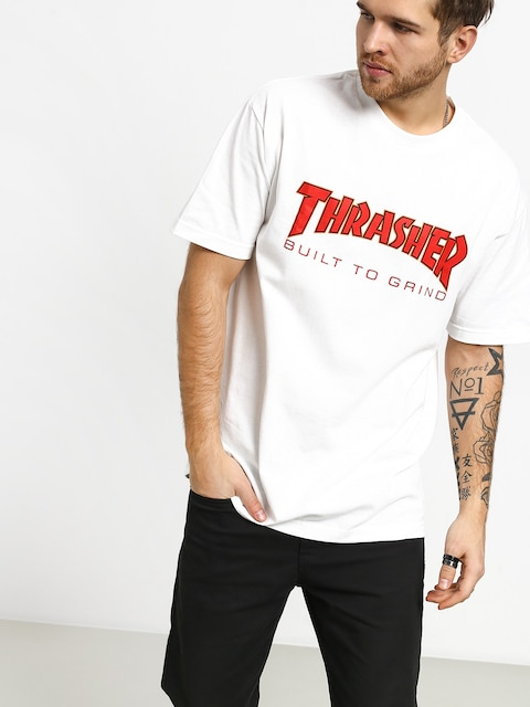 Tričko Independent Thrasher Btg (white)