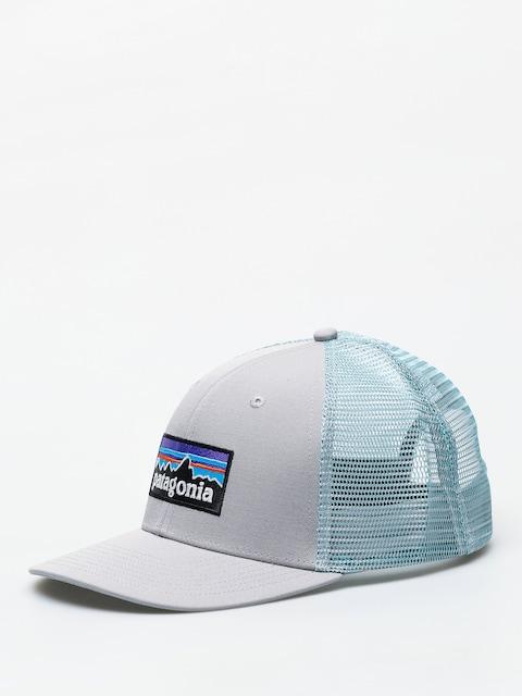 Kšiltovka  Patagonia P 6 Logo Trucker ZD (drifter grey w/dam blue)