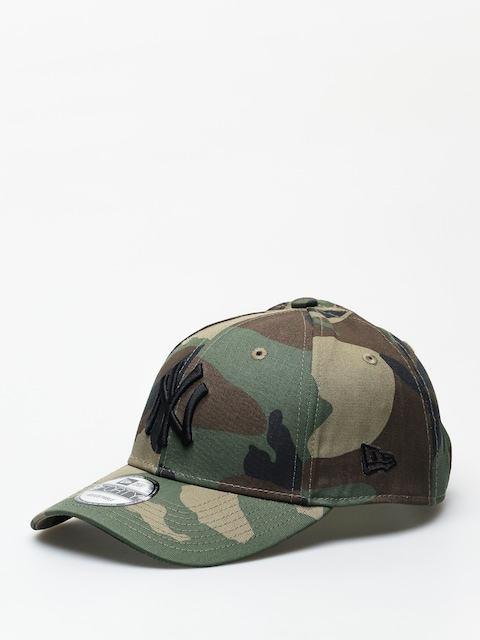 Kšiltovka  New Era League Essential New York Yankees ZD (woodland camo)