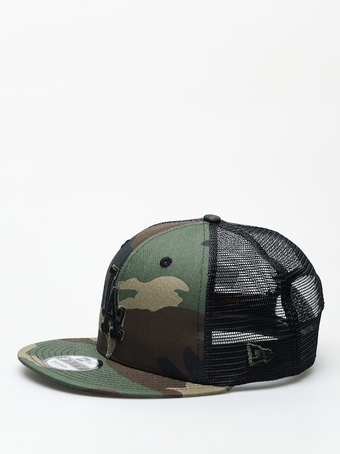 Kšiltovka  New Era League Essential Team Trucker Los Angeles Dodgers ZD (woodland camo/black)