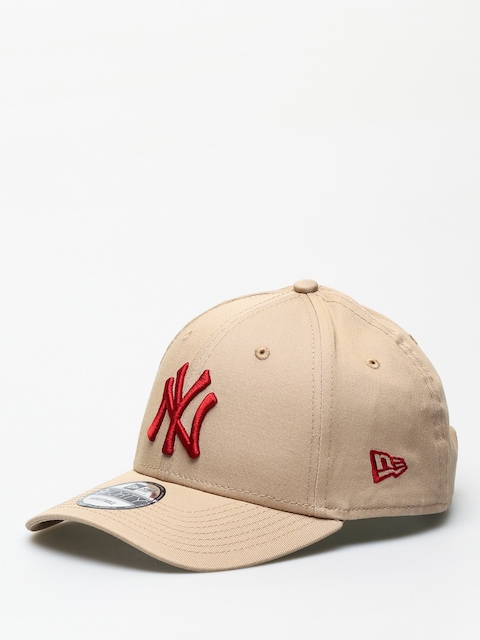 Kšiltovka  New Era 9Forty League Essential New York Yankees ZD (camel/hot red)