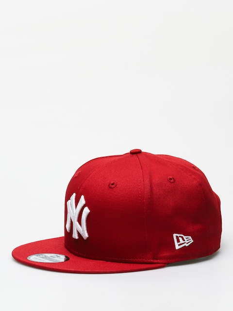 Kšiltovka  New Era 9Fifty League Essential New York Yankees ZD (hot red/optic white)