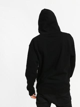 Mikina s kapucí Real Deeds Outline HD (black/white)