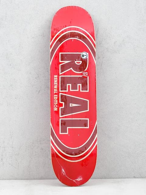 Deska Real Ovalduo Fade (red)