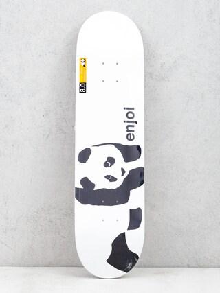 Deska Enjoi Panda Logo Wide (wht) 8.0