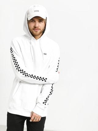 Mikina s kapucí Vans Versa HD (white/checkerboard)