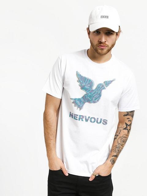 Tričko Nervous Lcd (white)
