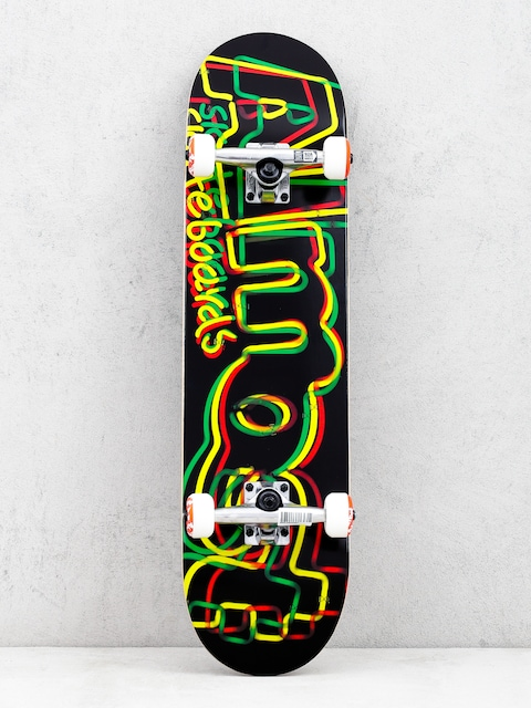 Skateboard Almost Neon Fp (rasta)