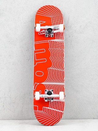 Skateboard Almost Unknown Pleasures (red)