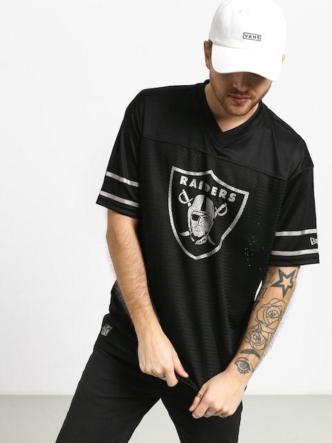 Tričko New Era Team Logo Oversized Oakland Raiders