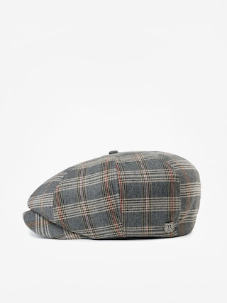 Klobouk s kšiltem Brixton Brood Snap ZD (grey/tan plaid)