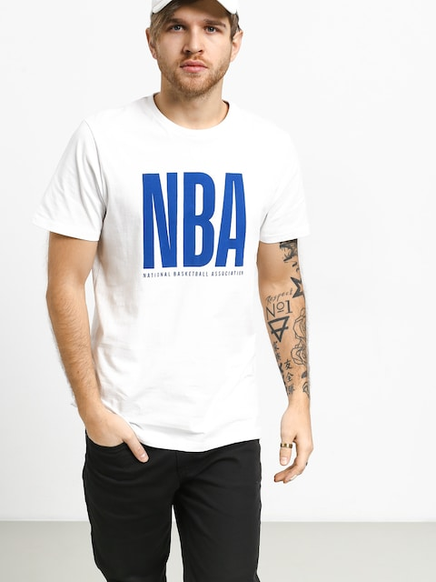 Tričko New Era Nba Logo (white)