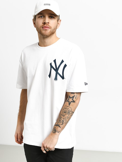 Tričko New Era Oversized Logo New York Yankees (white)
