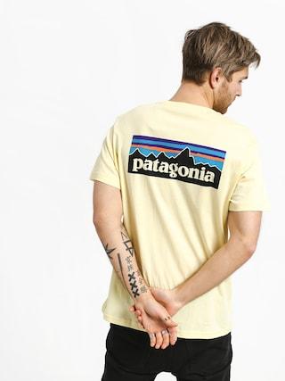 Tričko Patagonia Logo Organic (resin yellow)