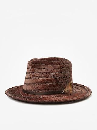 Klobouk Brixton Crosby II Fedora (brown/brown)