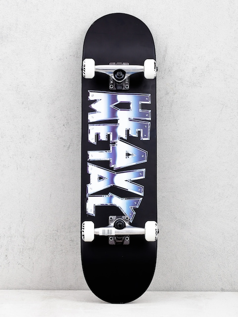 Skateboard Darkstar Heavy Metal Chrome (black)