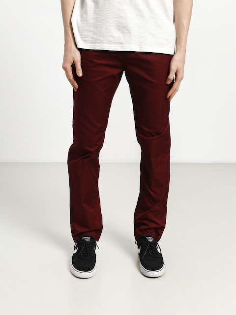 Kalhoty DC Worker Straight (cabernet)