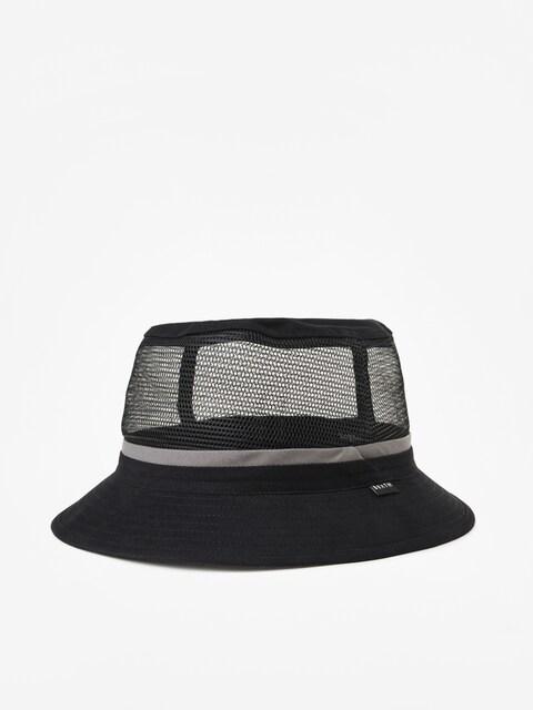 Klobouk Brixton Hardy Bucket Hat (black/grey)