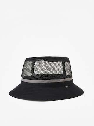 Klobouk Brixton Hardy Bucket Hat (black/grey)