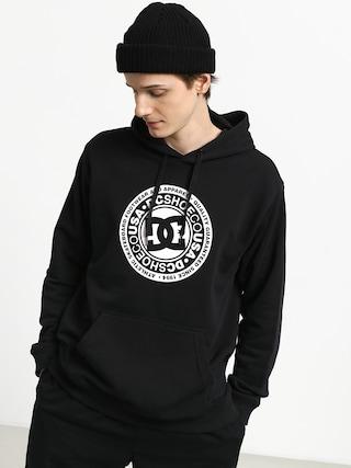 Mikina s kapucí DC Crasingle HD (black)