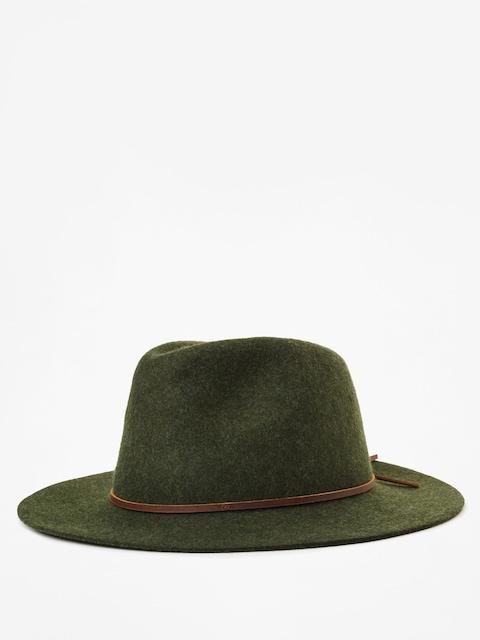 Klobouk Brixton Wesley Fedora (heather green)