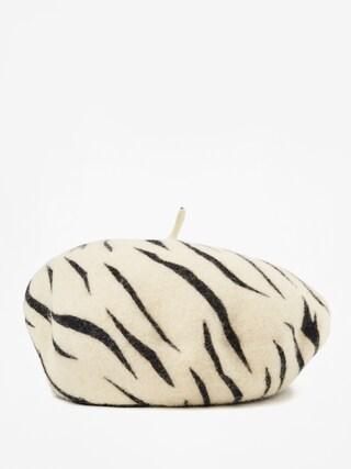 Klobouk s ku0161iltem Brixton Beret Audrey Beret Wmn (white tiger)