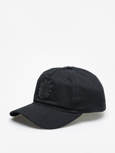 Kšiltovka  Primitive Rick Puff ZD (black)