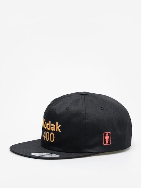 Kšiltovka  Girl Skateboard Kodak Gold 400 ZD (black)