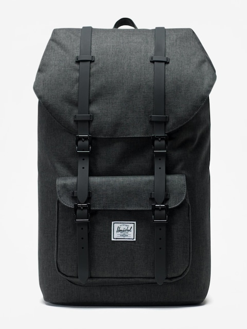 Batoh Herschel Supply Co. Little America (black crosshatch/black)