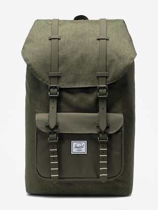 Batoh Herschel Supply Co. Little America (olive night crosshatch/olive night)