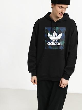 Mikina s kapucí adidas Towning HD (black/white/actblu/a)