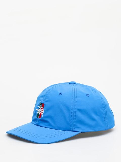 Kšiltovka Stussy Bars Logo Low Pro (blue)