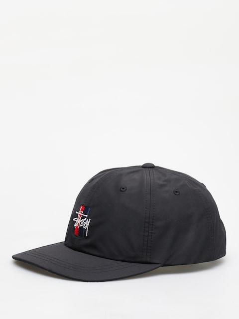 Kšiltovka Stussy Bars Logo Low Pro (black)