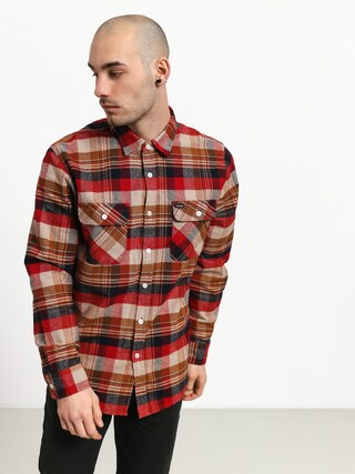 Kou0161ile Brixton Bowery Flannel (red/copper)