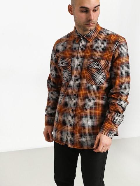 Košile Brixton Bowery Lw Flannel (burnt orange)
