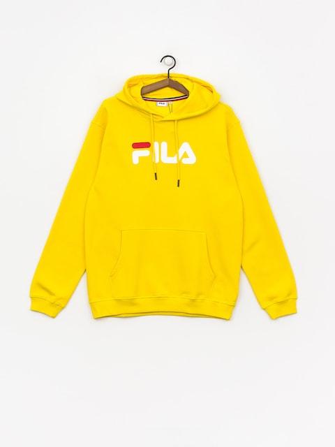 Mikina s kapucí Fila Pure HD (empire yellow)