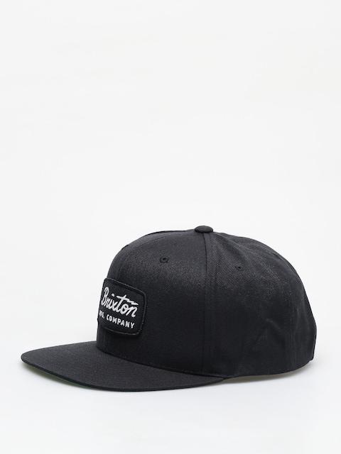 Kšiltovka  Brixton Jolt Snapback ZD (black/black/white)