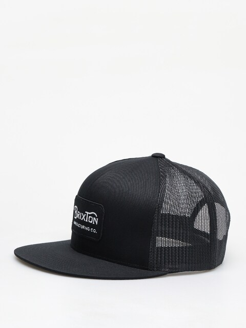 Kšiltovka  Brixton Grade Mesh ZD (black/black)