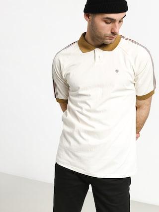 Polo tričko Brixton Este (cream/khaki)
