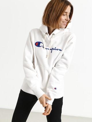 Mikina s kapucí Champion Hooded Sweatshirt HD Wmn (wht)