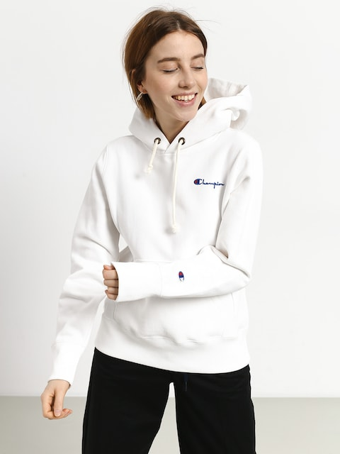 Mikina s kapucí Champion Hooded Sweatshirt HD Wmn (wht)