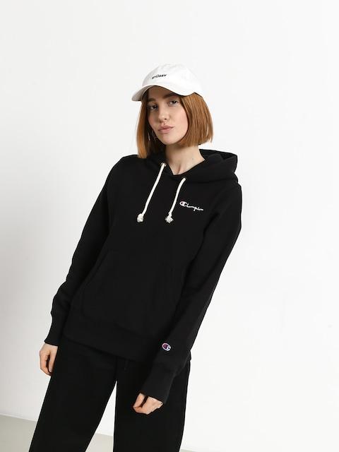 Mikina s kapucí Champion Premium Reverse Weave Hooded Sweatshirt HD Wmn (nbk)