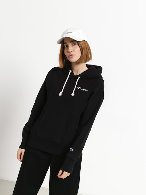 Mikina s kapucí Champion Reverse Weave Hooded Sweatshirt HD Wmn (nbk)