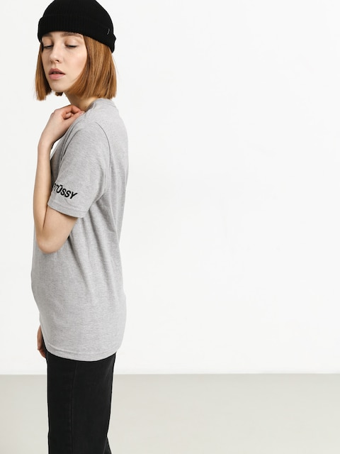 Tričko Stussy Sport Wmn (grey heather)