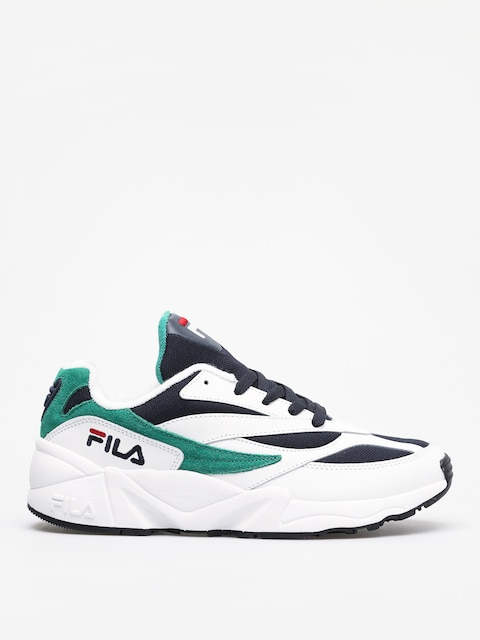 Boty Fila Venom Low (white/fila navy/shady glade)