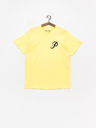 Tričko Primitive Classic P Rnm Skate (yellow)